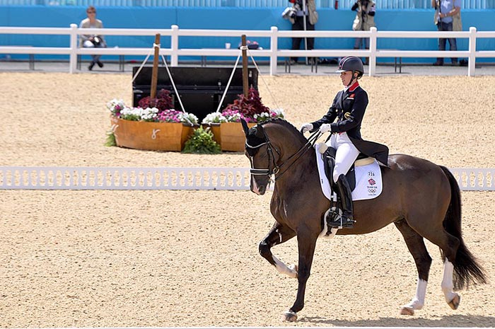 Charlotte Dujardin and Valegro at the London 2012 Olympic Dressage - Photo: Wikimedia Commons - Equestrian
