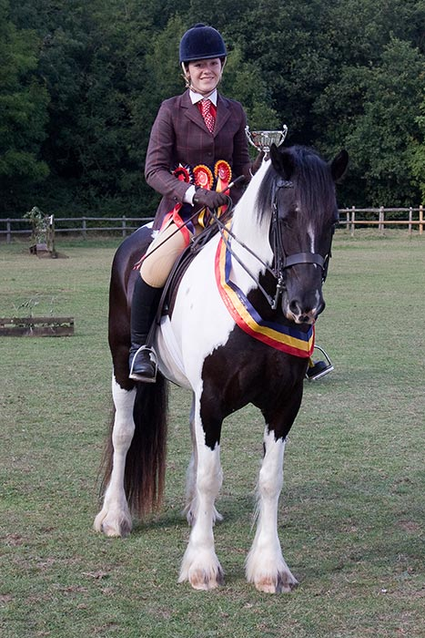 Ridden Champion – Holly Mills & Tom Cobley - Royle Photography Equestrian Events