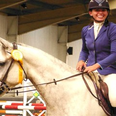 Charlotte gets her Golden Ticket to HOYS
