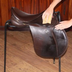 Cleaning and Caring for Leather Saddles and Bridles