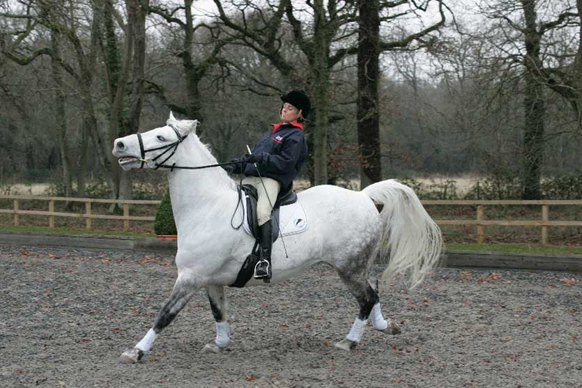 If your horse spooks when out hacking, it can be a daunting experience.
