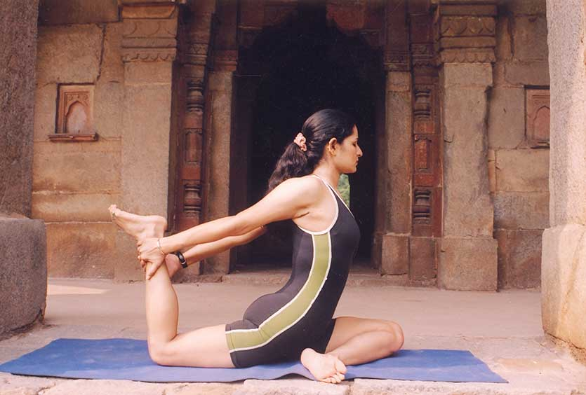 Yoga is a great discipline for riders to take up for a flexible back and pelvis.
